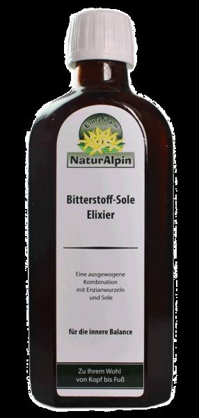 NaturAlpin Bitterstoff Sole Elixier 250 ml