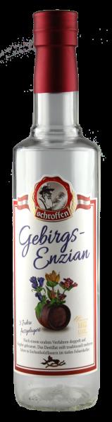 Schroffen Gebirgs-Enzian 40% Vol.