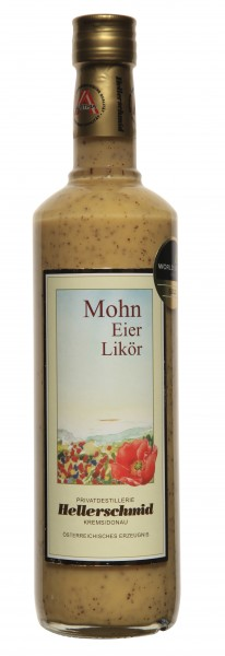 Wachauer Mohn-Eierlikör 20% Vol.