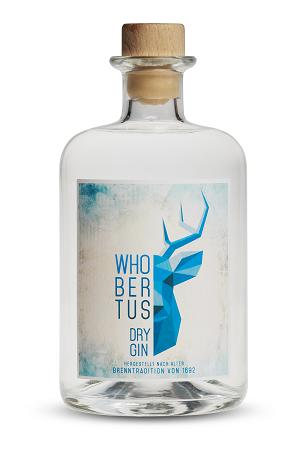 Whobertus Dry Gin 42% Vol. 0,5l