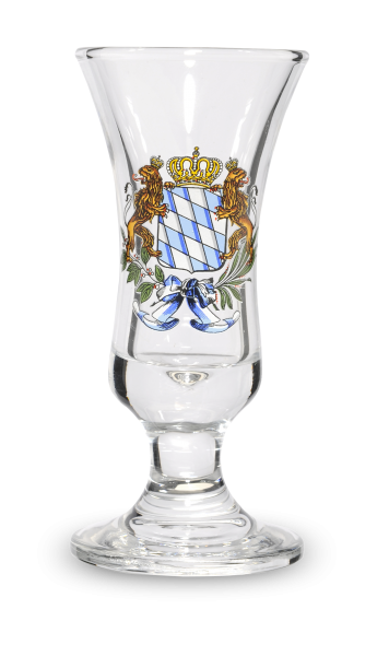Stamperl Bayernraute 2cl
