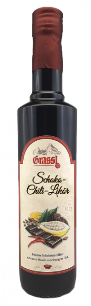 Schoko-Chili-Likör 17% Vol.
