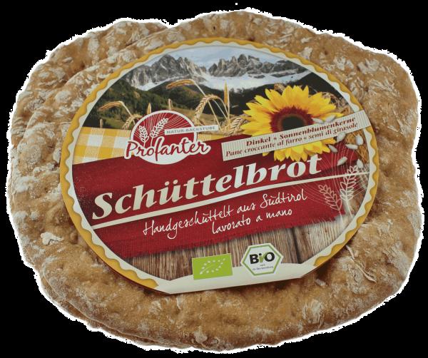 Schüttelbrot Dinkel & Sonnenblumenkerne