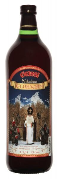 Nikolaus Glühwein rot 9% Vol.