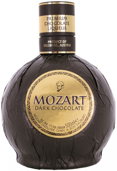 Mozart Dark Chocolate 17% Vol.