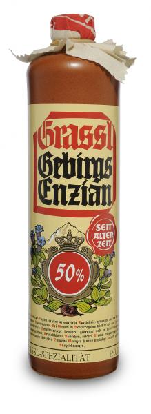 Enzian Stein 50% Vol.