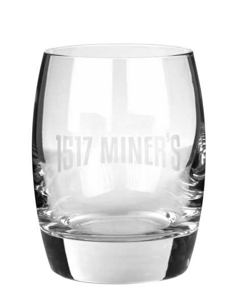 Glas Miners Gin