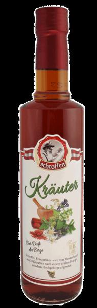 Schroffen Kräuter 38% Vol.