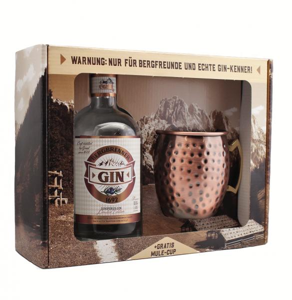 Bergbrenner Gin 43% Vol. Mule Box