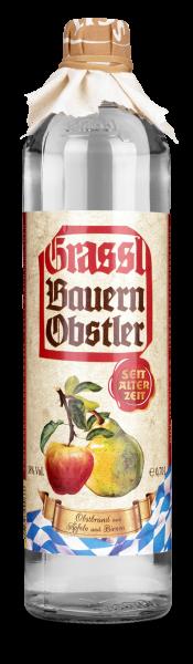 10066 Grassl Bauern Obstler 0,7l